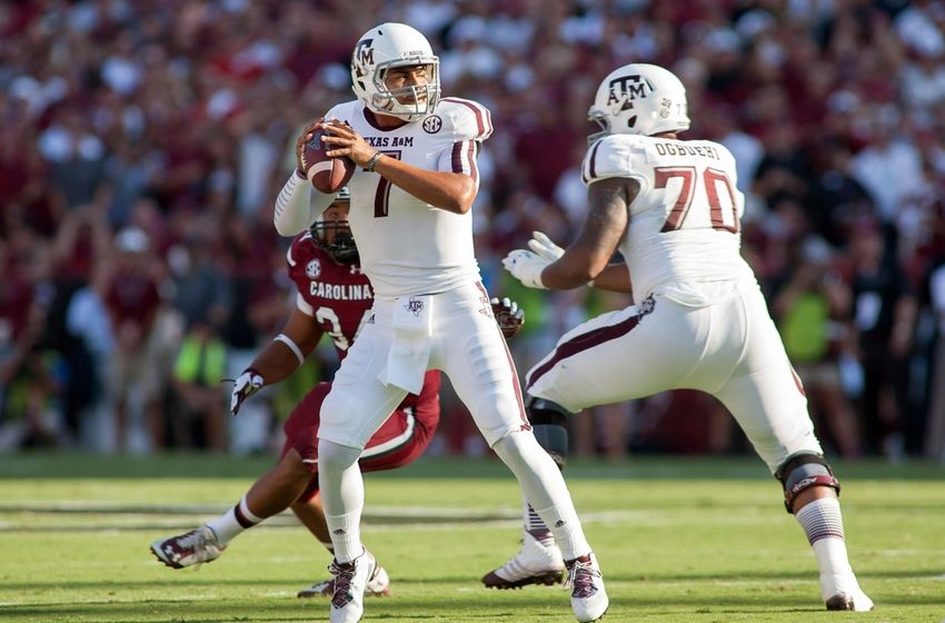 """Some are starting to call him Kenny Football (mainly the media) and the term """"Johnny Who?"""" has came about, mainly from the media. No matter what you call him, Kenny Hill has made a name for himself. (AP Photo)"""