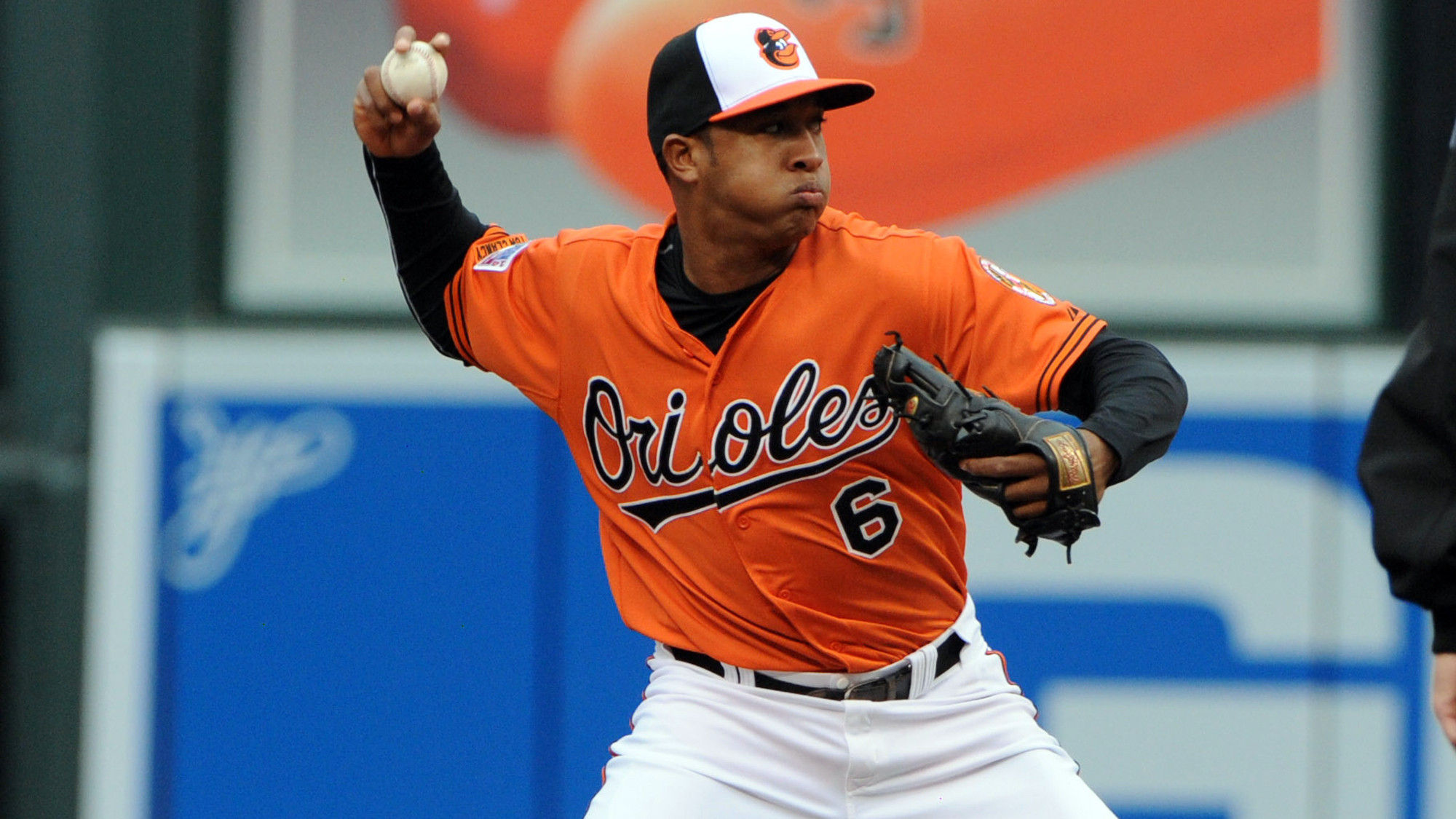 I hope Schoop comes out of Spring Training as the starting 2nd baseman. I was really impressed with the 22 year old Schoop last season, hitting 16 Home Runs. Buck think that Schoop can be a Gold-Glover only if he continues to work hard in spring training. I'm sure he will take heed to Buck's positive words.  (Kenneth K. Lam, Baltimore Sun)