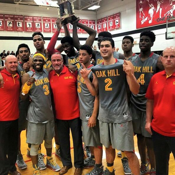 Oak Hill also has two other ESPN 100 players, 6'10 Daniel Giddens (committed to Ohio State) and 6'4 Josh Reaves (committed to Penn State). This will be their 6th appearance in the NHIT but surprisingly, they have never been crowned champs, losing in the Finals 2009, 2011, and 2014