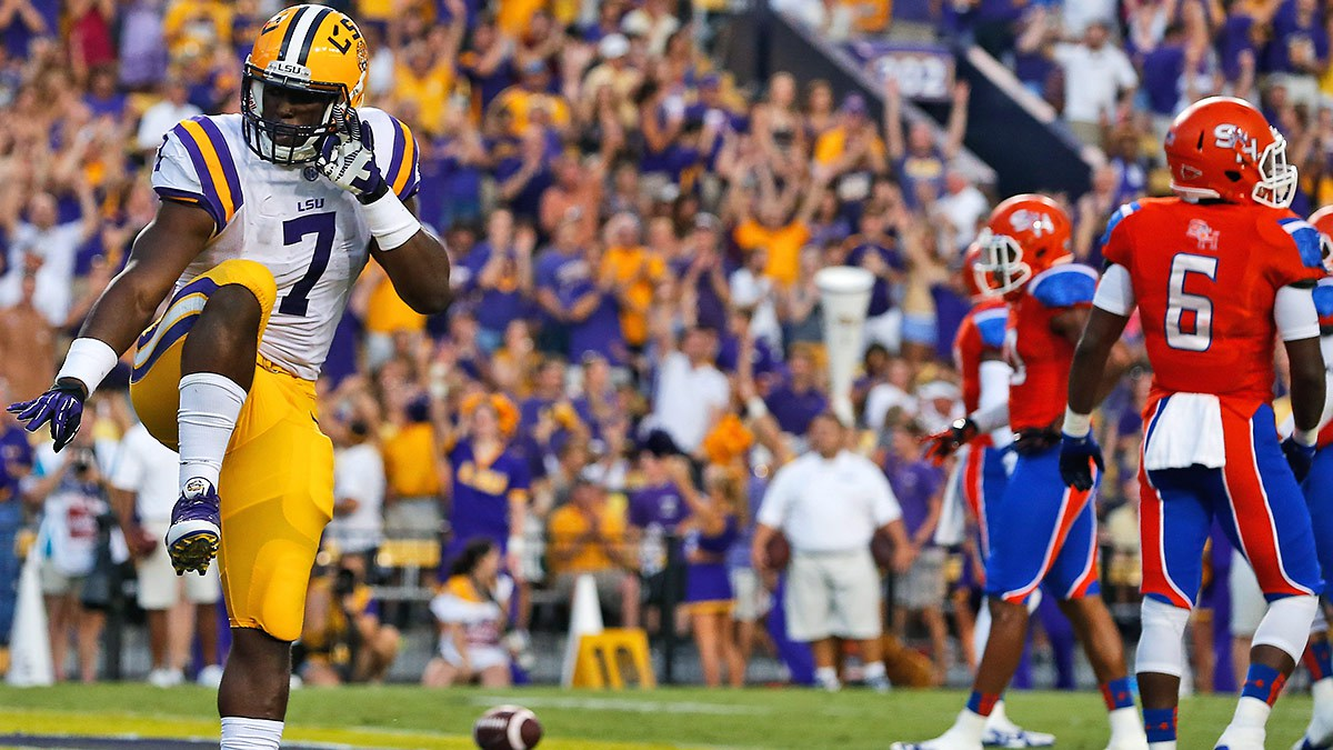 Fournette is looking to be the first LSU Heisman winner since Billy Cannon in 1959. (AP Photo)