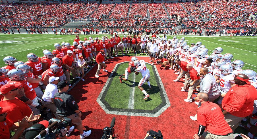 Word around town is the Buckeyes are angry and are primed for #1 ranking by time the playoffs come around. (AP Photo)