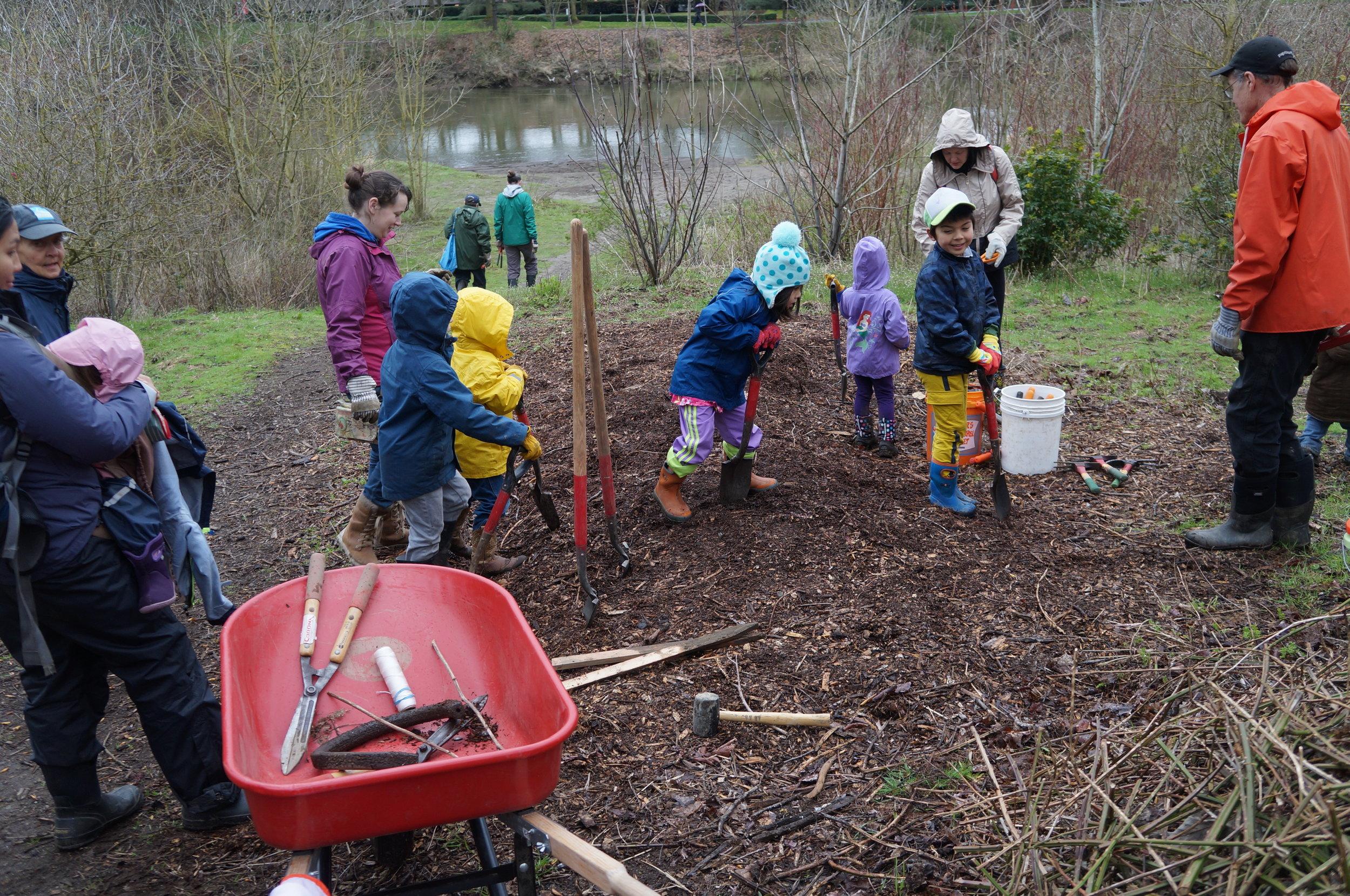 Codiga Park Homeschool Stewardship Squad