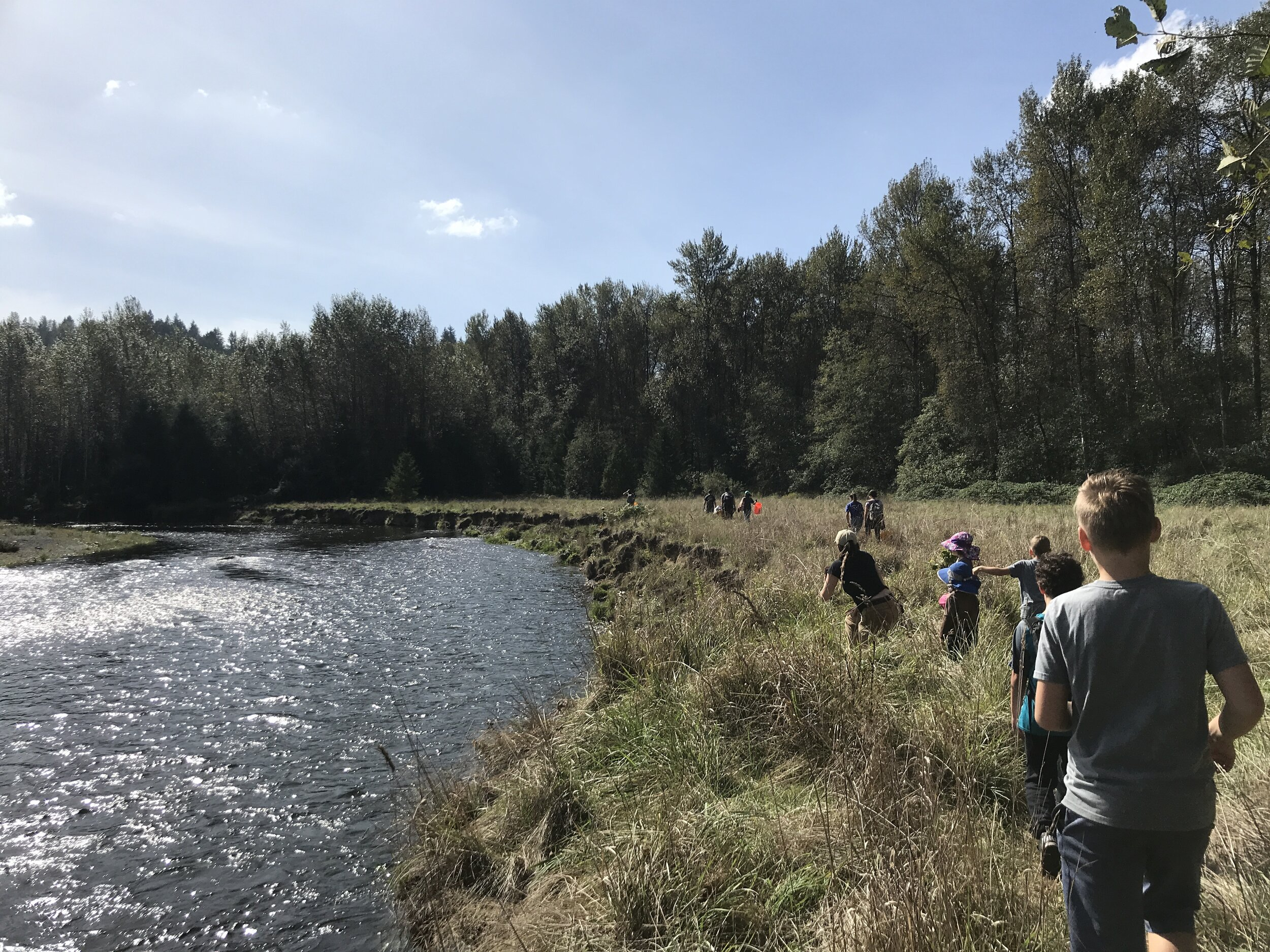 UPCOMING EVENTS for the Homeschool Stewardship Squad   (2nd Thursdays & 4th Wednesdays 11-2)  Thurs 10/10: Riverton Creek Parcel, Tukwila, GTP Wed 10/23: Cheasty Greenspace, Columbia City Seattle, GSP Thurs 11/14: Northacres Park, Haller Lake, Seattle, GSP Wed 11/27: Riverton Creek Parcel, Tukwila, GTP