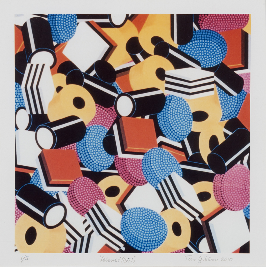 Image: Tom Gibbons,  Allsorts  (1971/2010), limited edition print