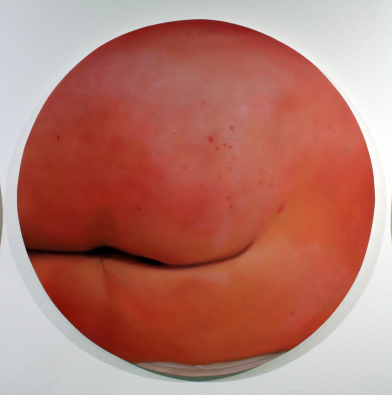 15. Nina McKay,  Fleshy , Oil on gesso board, courtesy of Edith Cowan University
