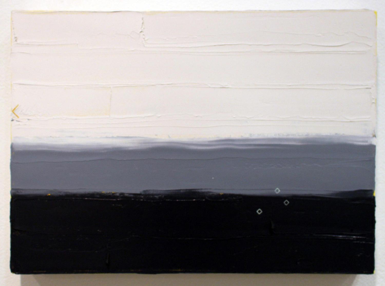 20. Ian Williams,  Small Study #3 , Oil and acrylic on canvas, $265