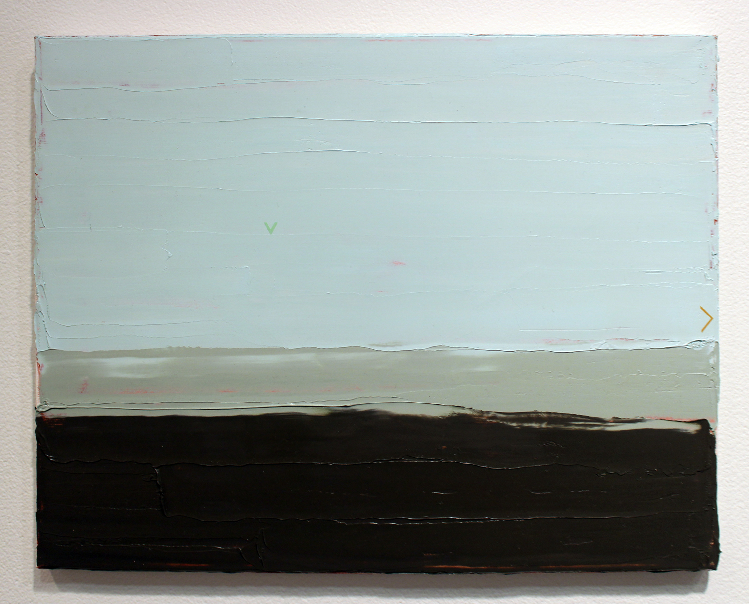 21. Ian Williams,  Small Study #2 , Oil and acrylic on canvas, SOLD