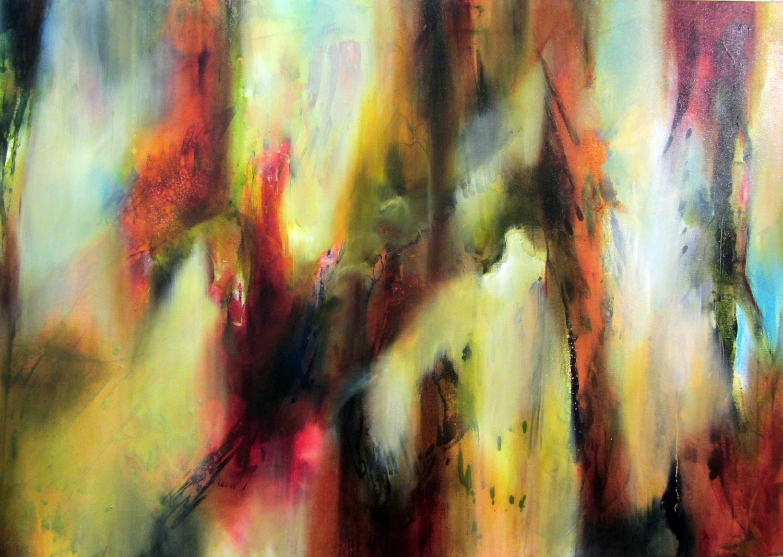 4. Joanne Duffy,  Understory I , oil on Belgian linen, $4,000