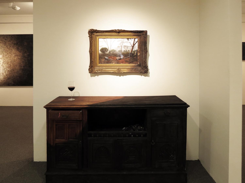 19. Nien Schwarz,  Hot World Buffet  (Installation Detail), $3,000