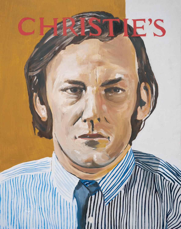 9 Matthew Hunt, Christie's 2014, oil on board, 35.6 x 28 cm, $3,300
