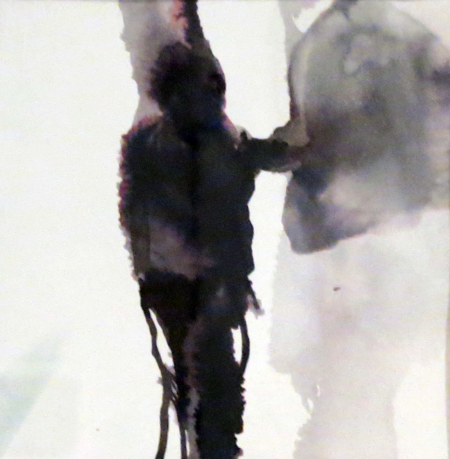 1 Andrea Wood,  Boy 1 , ink on cotton rag paper, $275