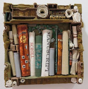 13. Diane Savona,  This Too Shall Pass - Libraries 6 , $230