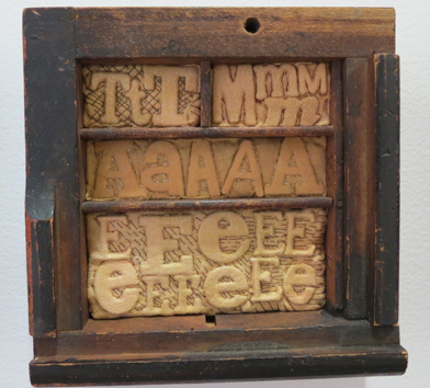 14. Diane Savona,  This Too Shall Pass - Movable Type 2 , $230
