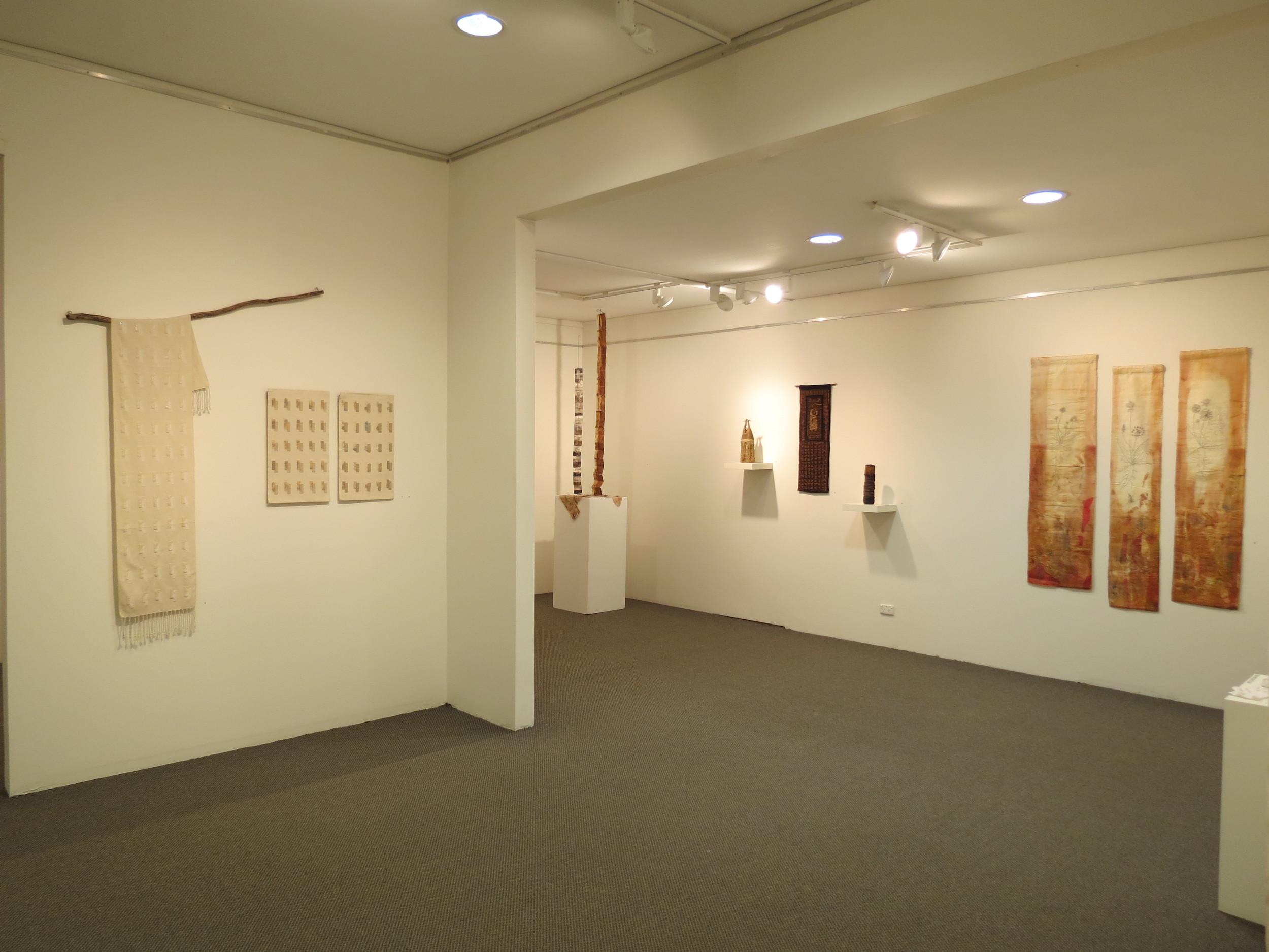 Exposition-KayFaulkner, Pam Fisher, Mary Hettmansperger, Cas Holmes