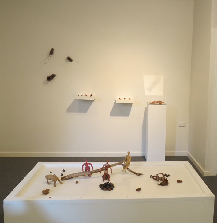 Cathy Rankin, Forms of My Reality installation, North wall cluster