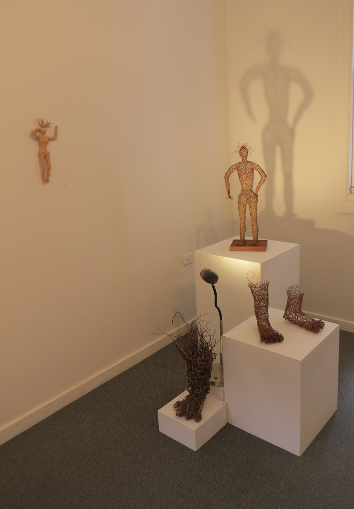 Cathy Rankin, Forms of My Reality installation, Standing Woman cluster