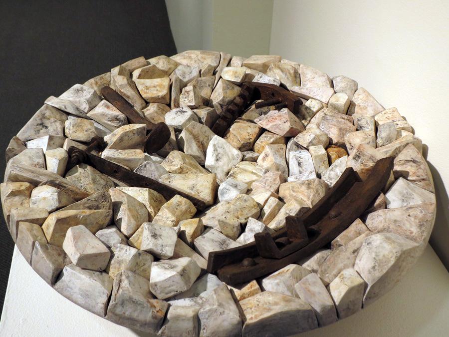3. Tanija and Graham Carr,  Pseudomorphic series, Untitled 2014-1 , $4800