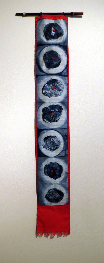 25. Trudi Pollard,  Indigo Roses,  $120