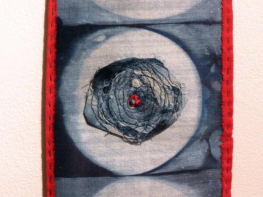 25. Trudi Pollard, Indigo Roses  (Detail) , $120