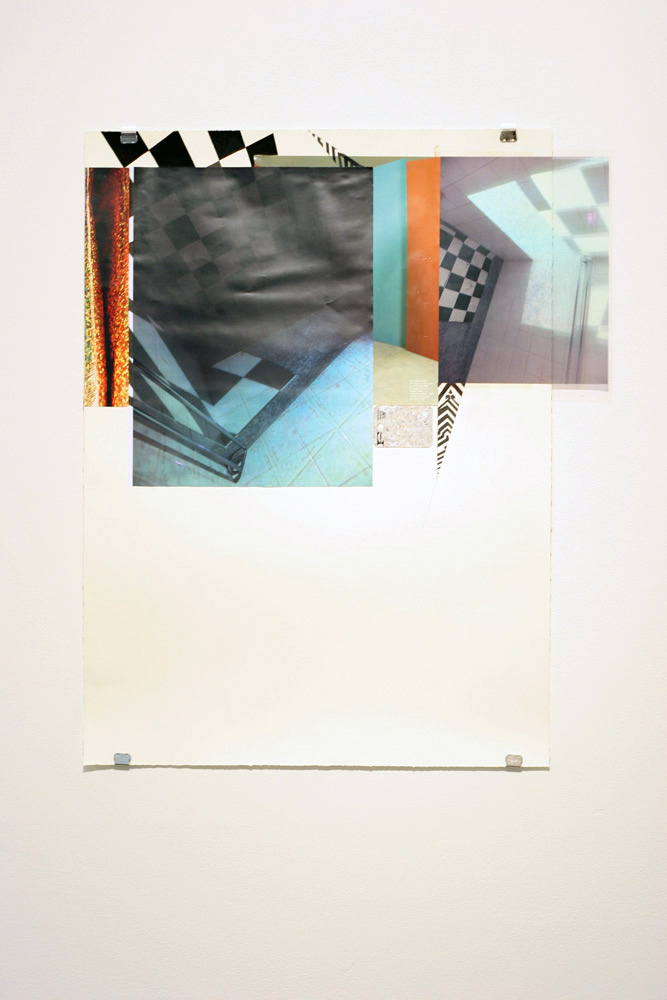"""19. Jazmin Mckechnie,  Beside the point, I would never lie: """"I wilfully participated in a campaign of misinformation"""" , Found object, wood, Perspex, enamel paint, textile, 60 x 60 x 65cm, $400"""