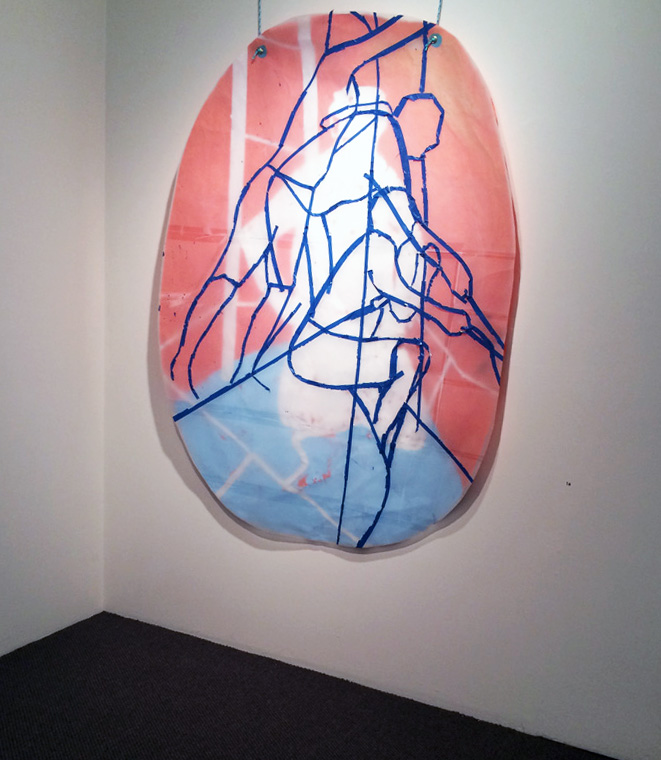 16. Carly Lynch,  Project Endeavour (after Sanders) , Mixed-media installation, dimensions variable, POA