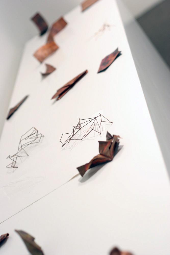 13. Tessa Beale,  Material Studies , Copper, variable dimensions, $50 - $80 each