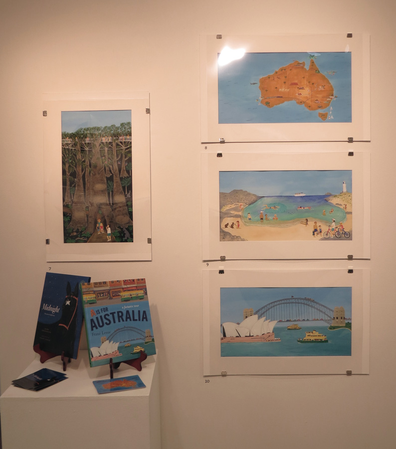 7 - 10.  A is for Australia  by Frane lessac (author and illustrator)