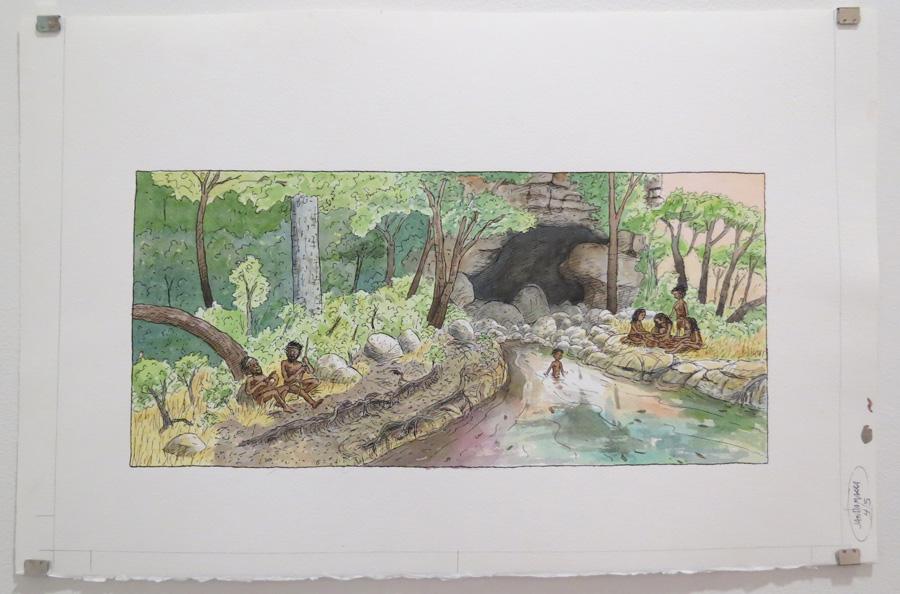 14.  The boy had a Bunuba name  by Terry Denton, watercolour on paper, NFS