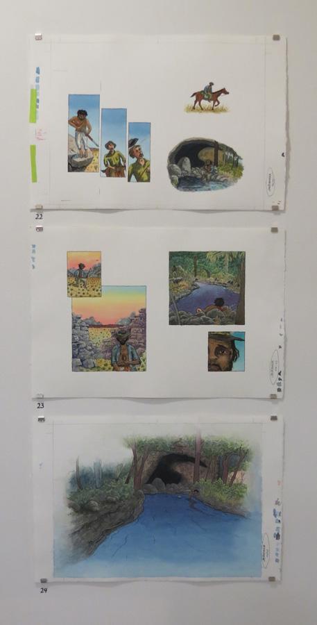 22 - 24.  Jandamarra  by Terry Denton (author Mark Greenwood)