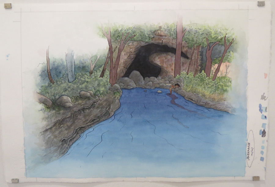 24.  Jandamarra was dreaming of the living water  by Terry Denton, watercolour on paper, NFS