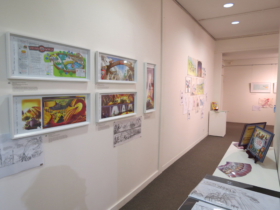 heARTlines  install - gallery south wall