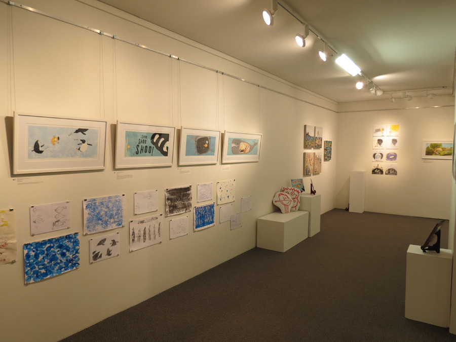 heARTlines  install - gallery west wall