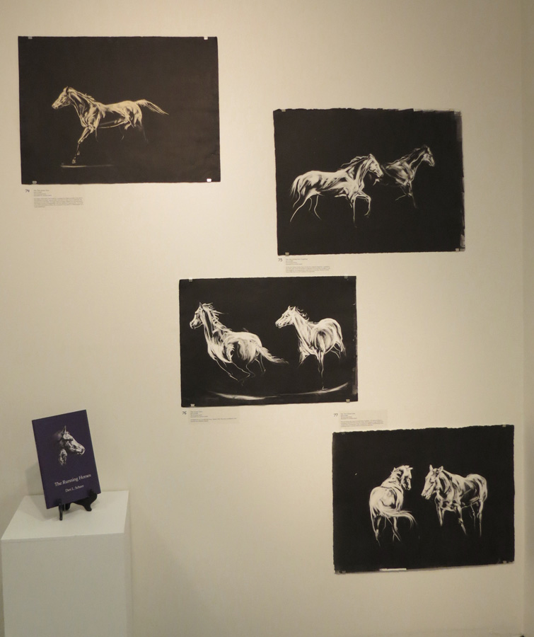 74 - 77.  The Running Horses  by Den Scheer (author and illustrator)