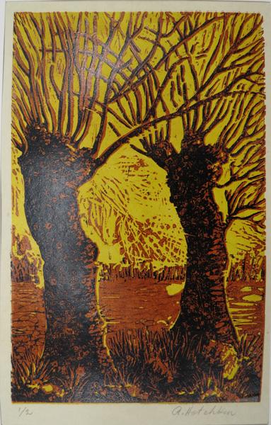 A13. Alma Hotchkin,  Winter 1-2,  c1970, $80