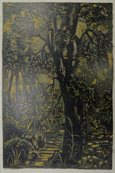 A17. Alma Hotchkin,  Enticing,  c1980, $180