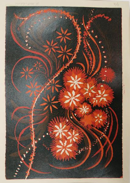 A25. Alma Hotchkin,  Septmeber 2-2,  c1980, $150