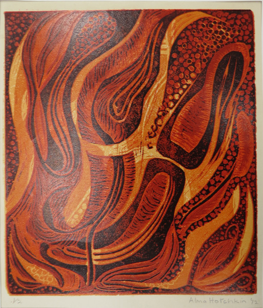 A36. Alma Hotchkin,  Journey of Flame I 1-2 , 1972, $200