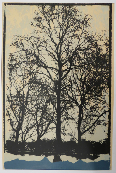 A39. Alma Hotchkin,  Untitled,  Lithograph, c1980, $180