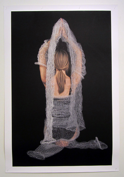 18.  Meditation on Form  by Anne Farren photographic image on canvas (4) phot. Richard Jefferson $615