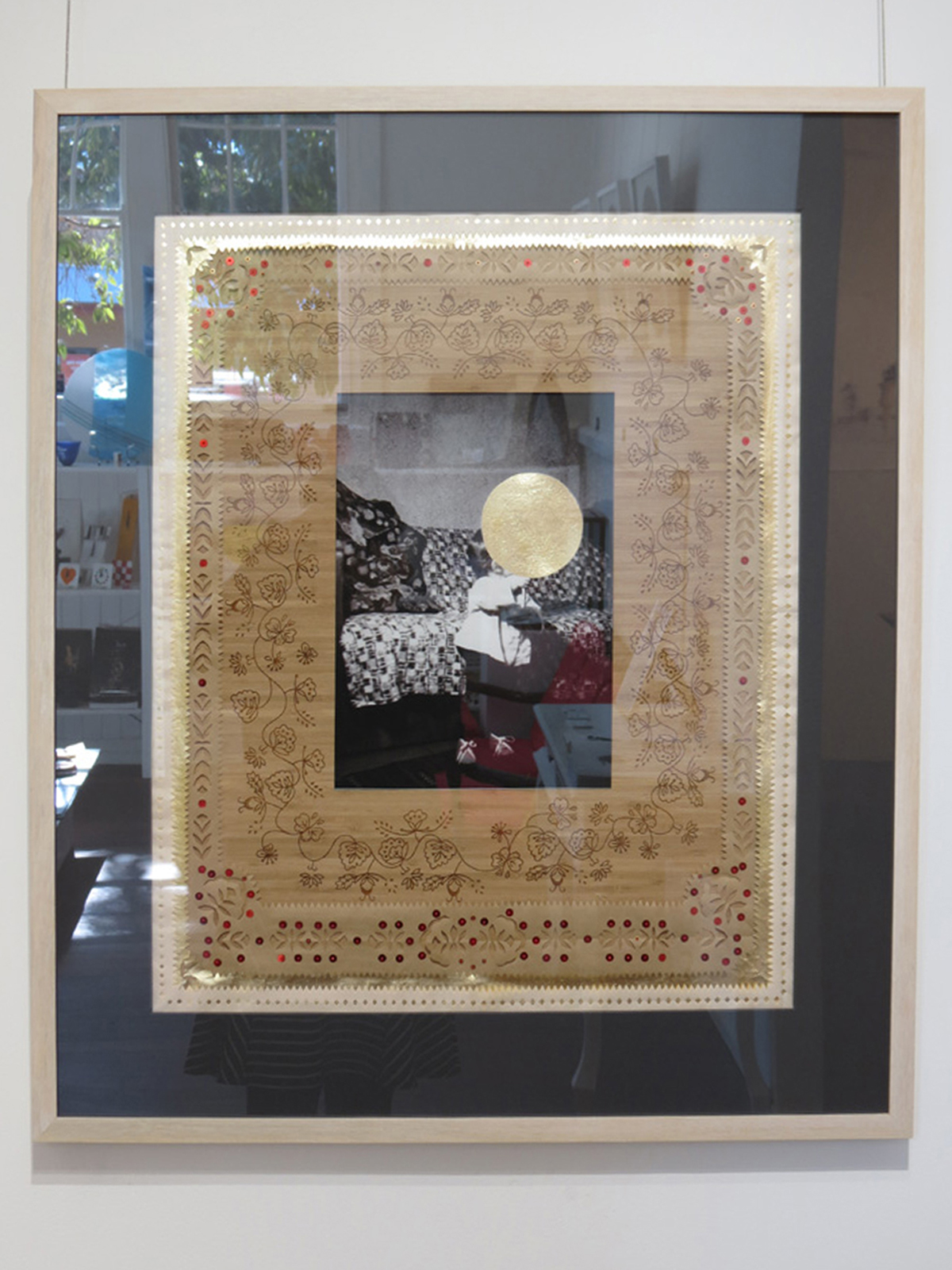 3.  The Original Place - Family Album 1 , Elisa Markes-Young, paper and mixed media, $1100