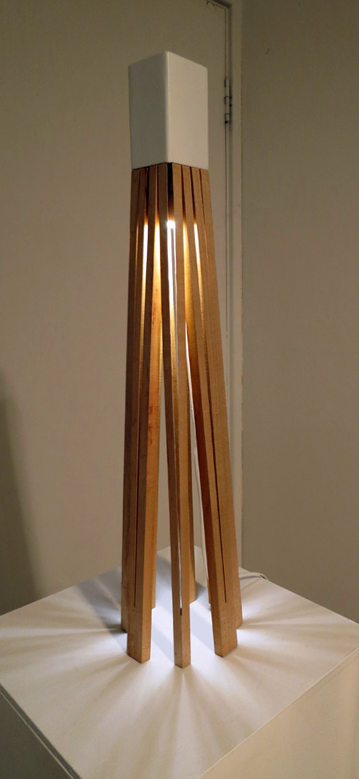 15.  One Eight One , Shannon Riddle, American Rock Maple, aluminium, LED lights (prototype), EOI