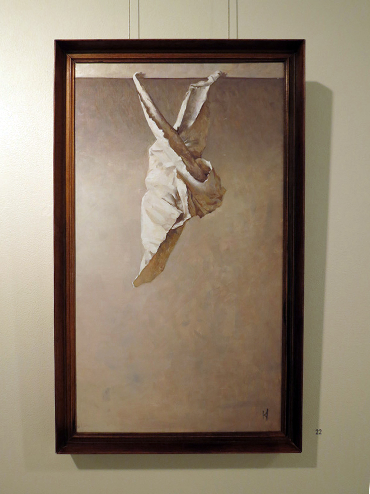 22.  Chrysalis , Kieran Ingram, oil on linen, $1200