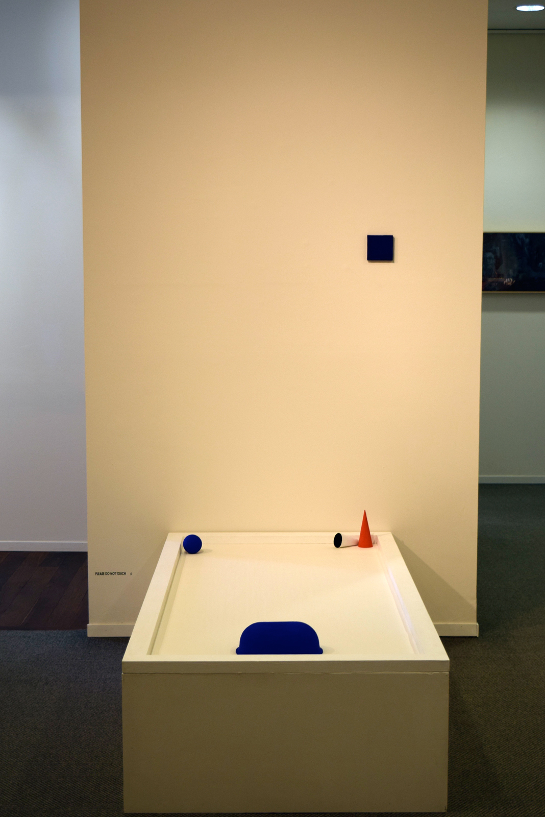 5.  5 Objects  (installation), Lesley Munro, piment, acrylic on assorted found objects, $600