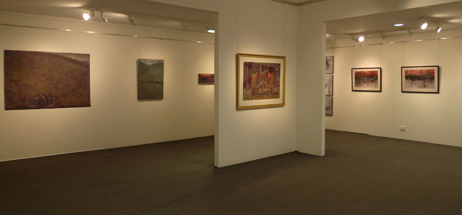 Being Here , gallery view