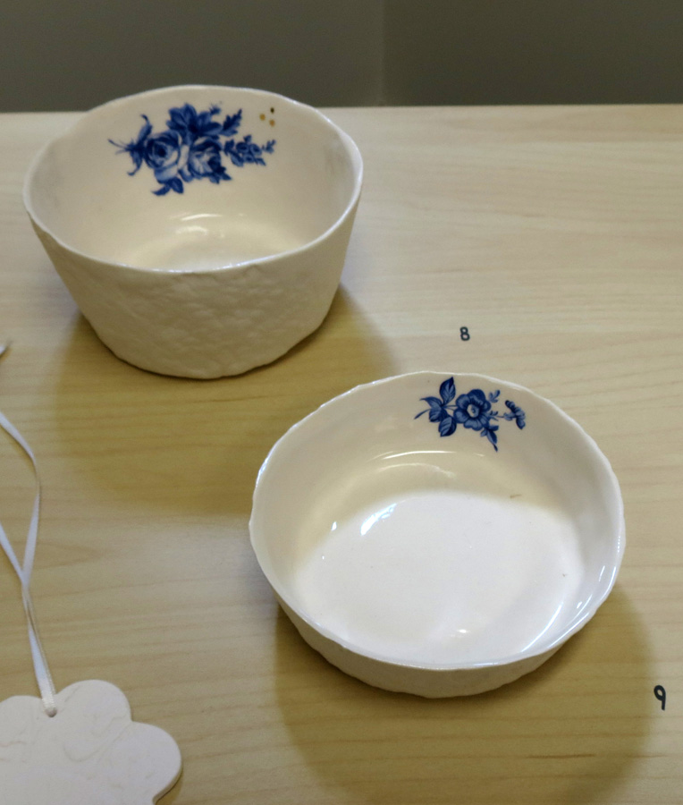 8. Louise Simonette,  Large Bowl  $36 each and  Smaller Bowl  $32 each
