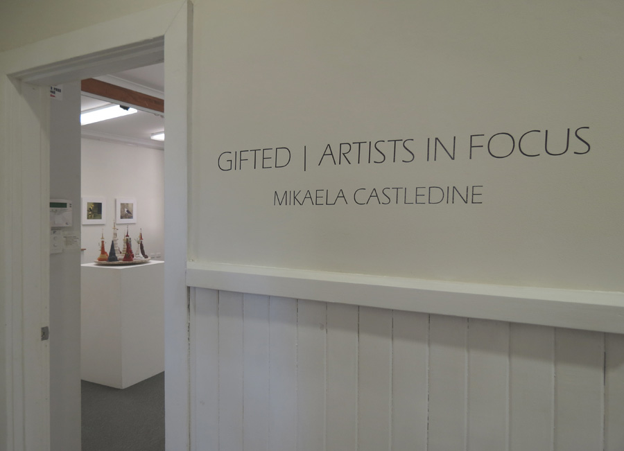 Gifted - Mikaela Castledine, gallery view