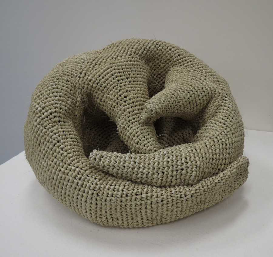 15. Mikaela Castledine, Naked , crocheted polypropylene and found objects, to be exhibited at Sculpture by the Sea Inside 2016