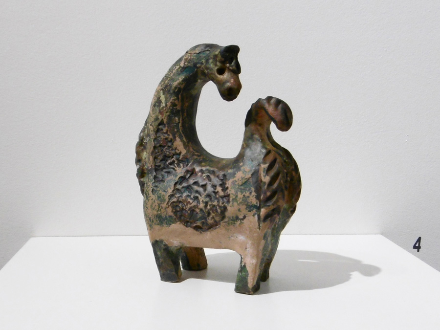 4. 'Llama', Trudy Smith, ceramic c1970, Private Collection