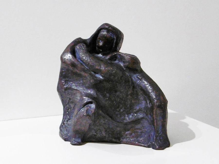 6. 'Mother and Child', Trudy Smith, ceramic c 1970, Private Collection