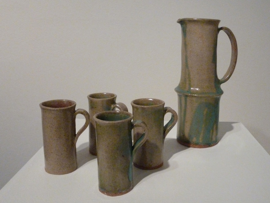 10. 'Lemonade Jug and Cups', Trudy Smith, ceramic 1990, Private Collection